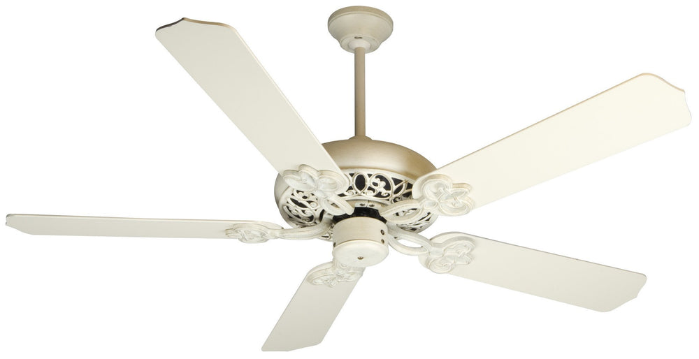 Craftmade K10615 Cecilia Ceiling Fan Kit in Antique White Distressed with 52