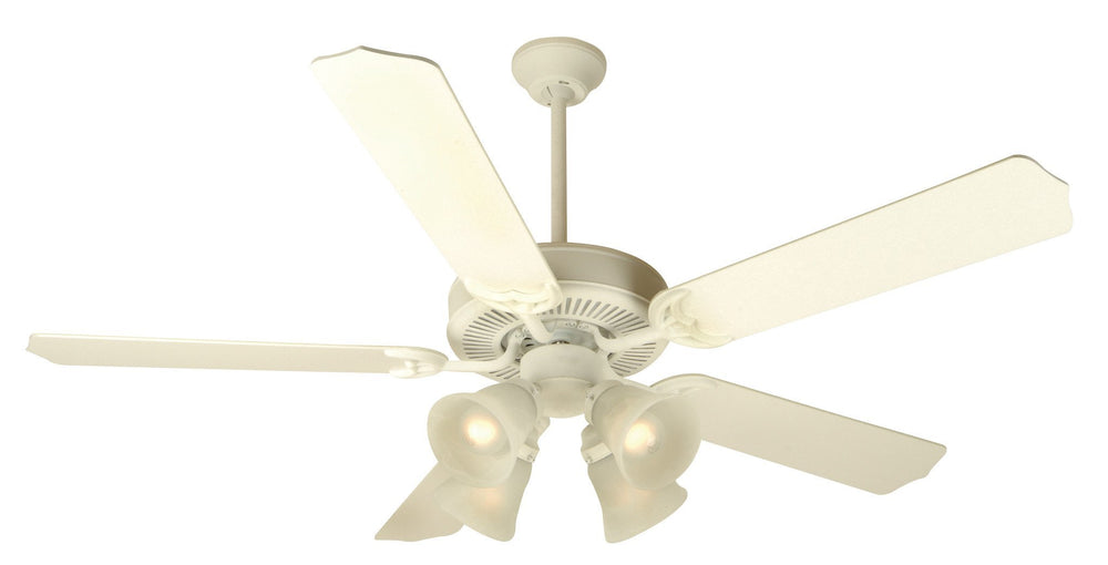Craftmade K10630 Pro Builder 203 Ceiling Fan Kit in Antique White with 52