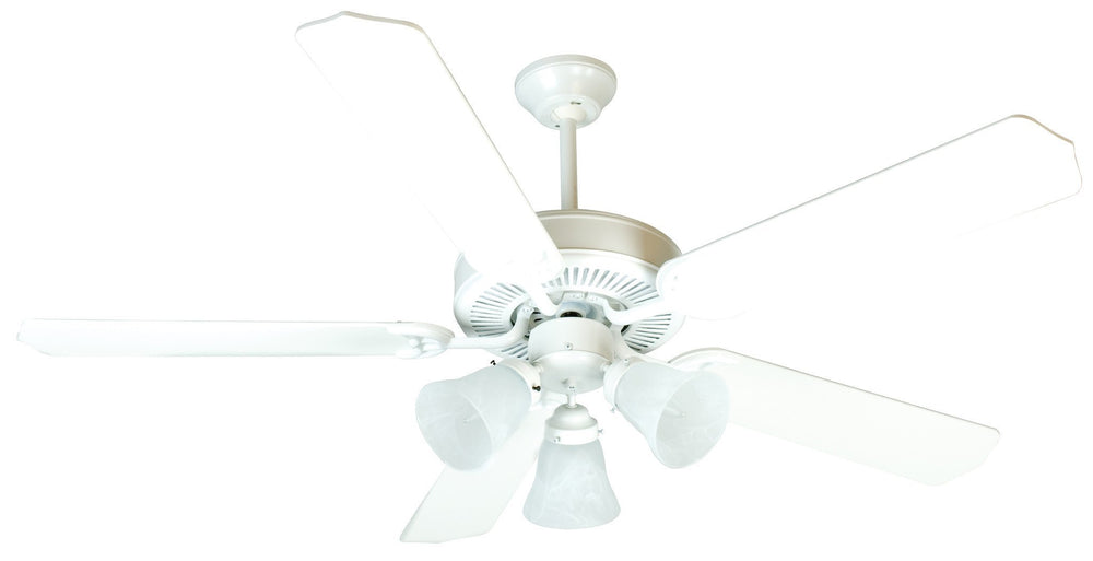 Craftmade K10638 Pro Builder 205 Ceiling Fan Kit in White with 52