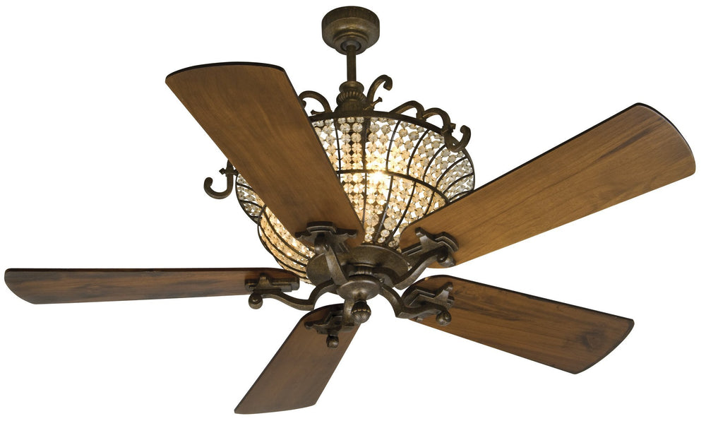 Craftmade K10660 Cortana Ceiling Fan Kit in Peruvian Bronze with 54