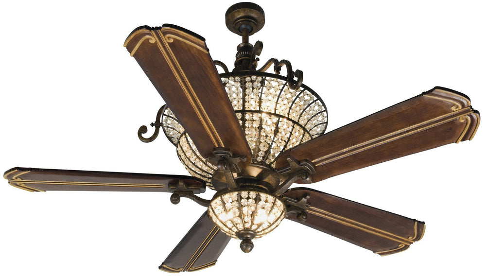 Craftmade K10662 Cortana Ceiling Fan Kit in Peruvian Bronze with 56