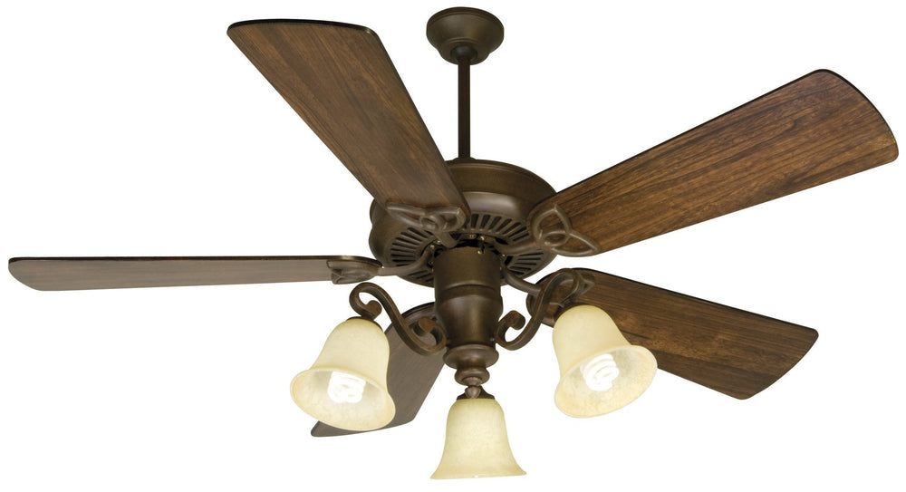 Craftmade K10674 CXL Ceiling Fan Kit in Aged Bronze Textured with 54