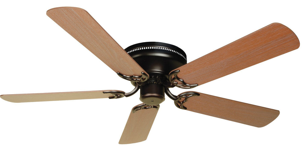 Craftmade K10686 Pro Contemporary Flushmount Ceiling Fan Kit in Oiled Bronze with 52