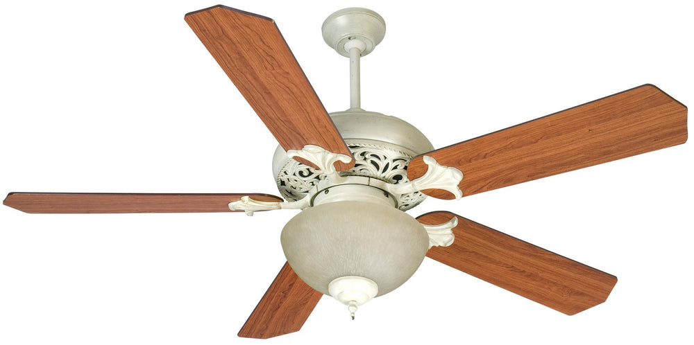 Craftmade K10723 Mia Ceiling Fan Kit in Antique White Distressed with 52