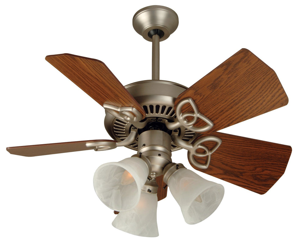 Craftmade K10740 Piccolo Ceiling Fan Kit in Brushed Satin Nickel with 30