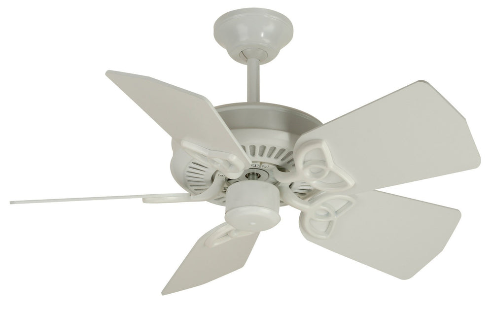 Craftmade K10743 Piccolo Ceiling Fan Kit in White with 30
