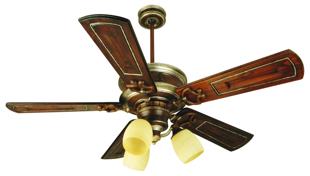 Craftmade K10781 Woodward Ceiling Fan Kit in Dark Coffee/Vintage Madera with 54