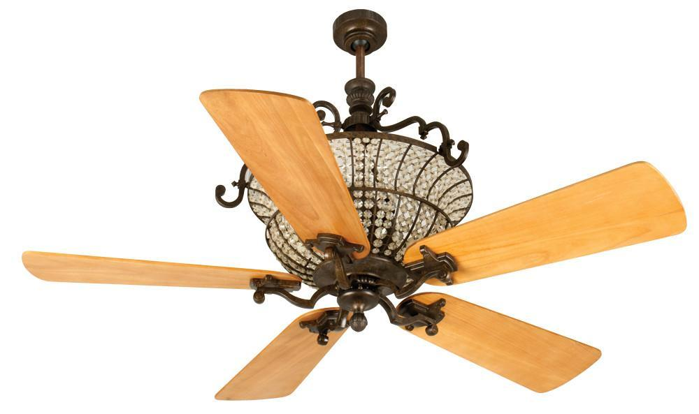 Craftmade K10879 Cortana Ceiling Fan Kit in Peruvian Bronze with 54