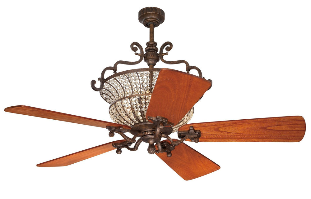 Craftmade K10880 Cortana Ceiling Fan Kit in Peruvian Bronze with 54