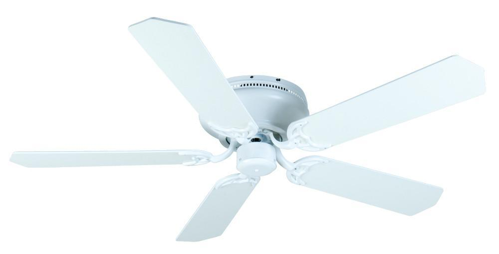 Craftmade K11006 Pro Contemporary Flushmount Ceiling Fan Kit in White with 52