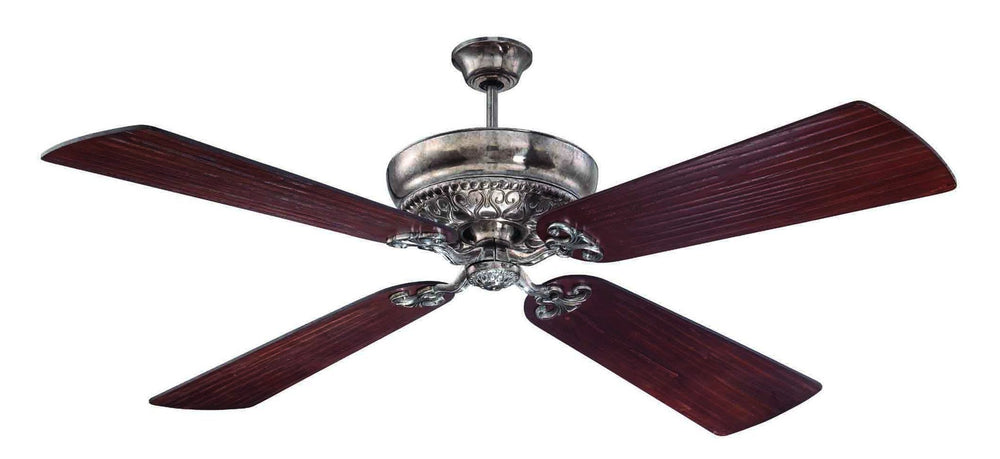 Craftmade K11059 Monroe Ceiling Fan Kit in Tarnished Silver with 54