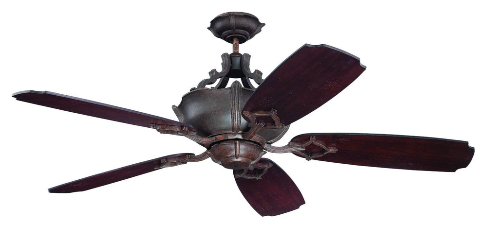 Craftmade K11061 Wellington XL Ceiling Fan Kit in Aged Bronze Textured with 54
