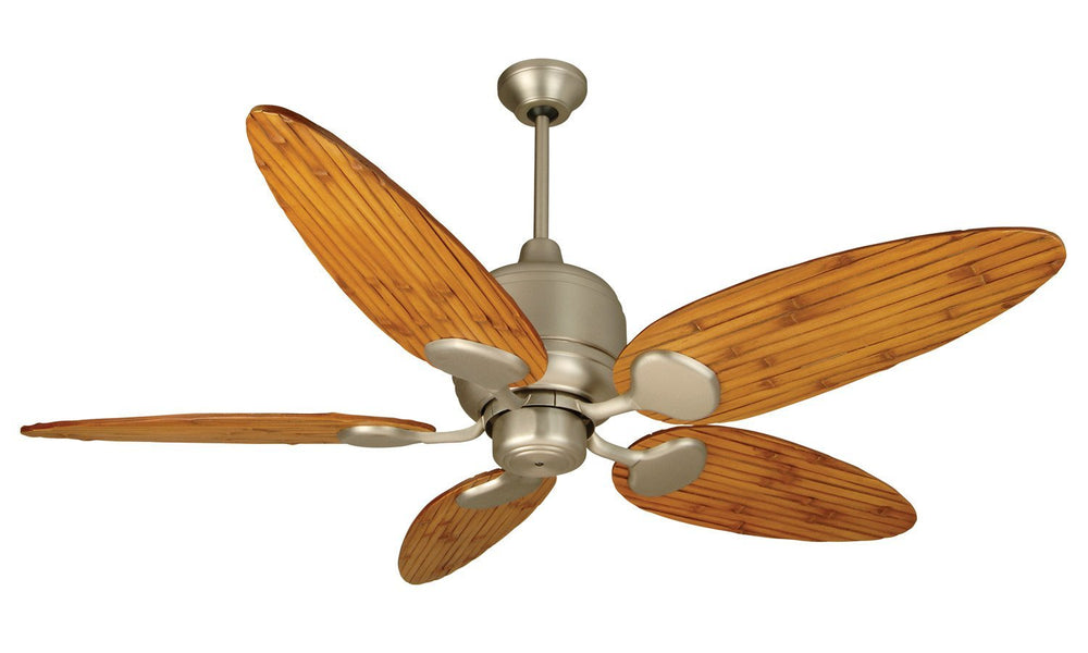 Craftmade K11160 Kona Bay Ceiling Fan Kit in Brushed Satin Nickel with 54