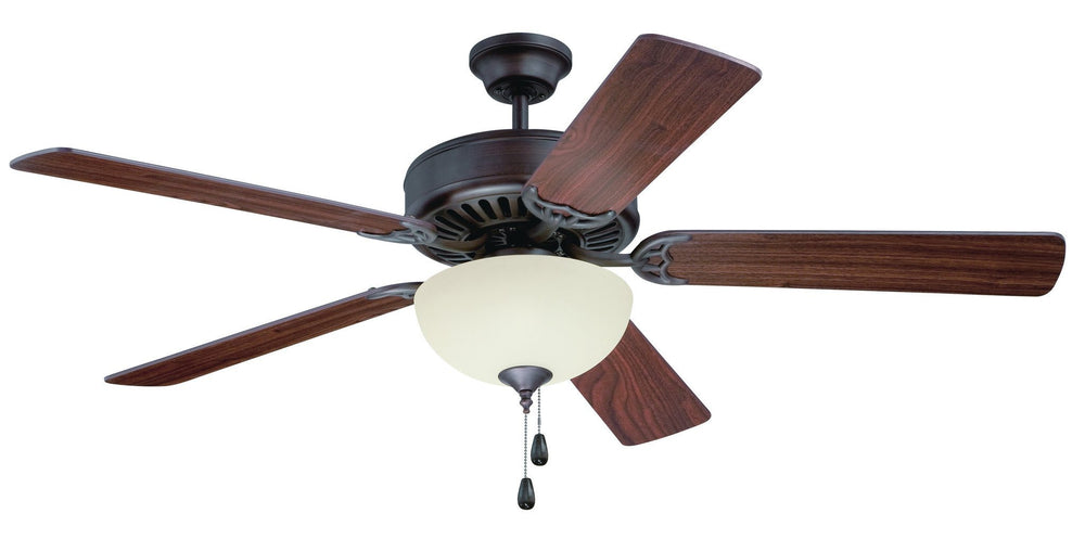 Craftmade K11201 Pro Builder 202 Ceiling Fan Kit in Aged Bronze Brushed with 52