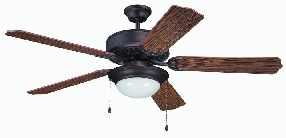 Craftmade K11206 Pro Builder 209 Ceiling Fan Kit in Aged Bronze Brushed with 52