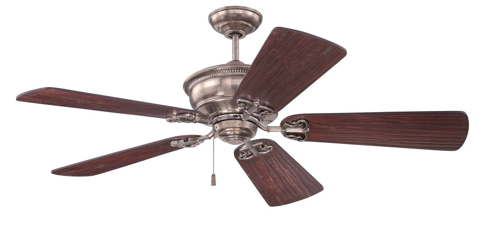 Craftmade K11232 Monaghan Ceiling Fan Kit in Tarnished Silver with 54