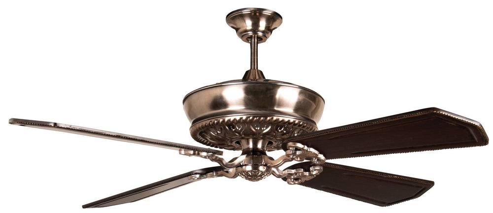 Craftmade K11235 Monroe Ceiling Fan Kit in Tarnished Silver with 56