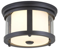 DVI Lighting Lachine Niagara 7.75 Inch Outdoor Flush Mount Model: DVP4470HB-CL