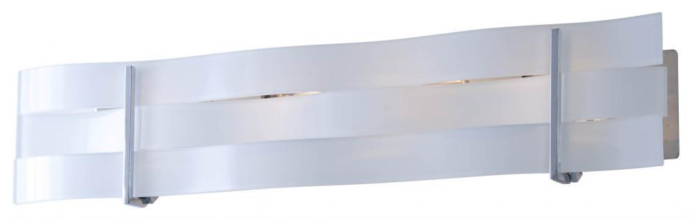 DVI Lighting Tides 6 Inch Four Light Vanity Model: DVP15744MF-SSW