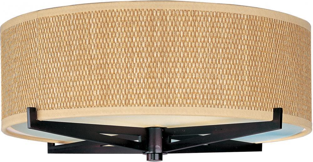 E95300-101OI ET2 Elements 2-Light Flush Mount in Oil Rubbed Bronze