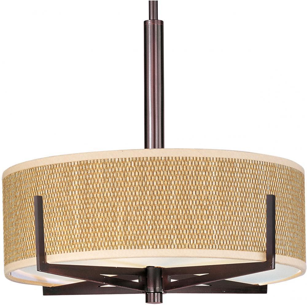 E95305-101OI ET2 Elements 3-Light Pendant in Oil Rubbed Bronze