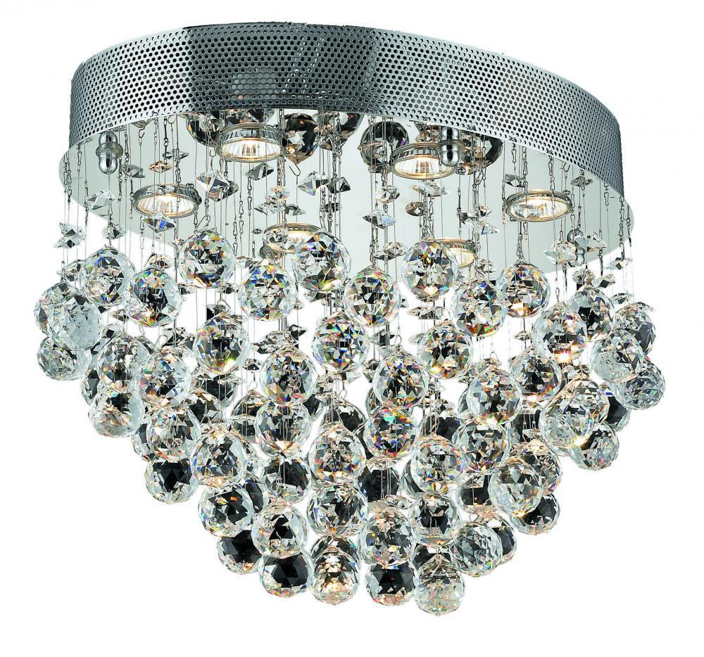 Elegant Lighting 2022F20 Galaxy 6 Light Flush Mount