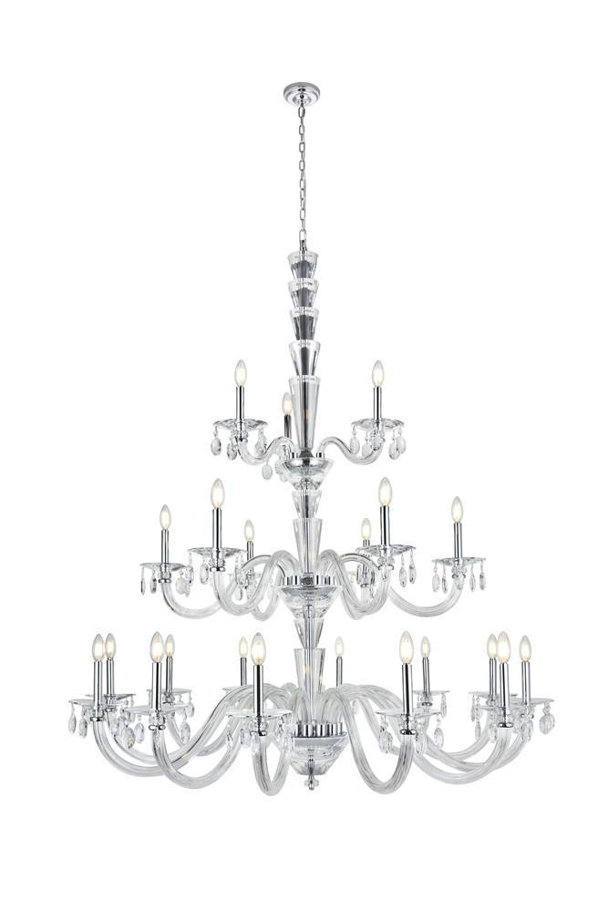 Elegant Lighting 7870G52 Augusta Pendant Lamp