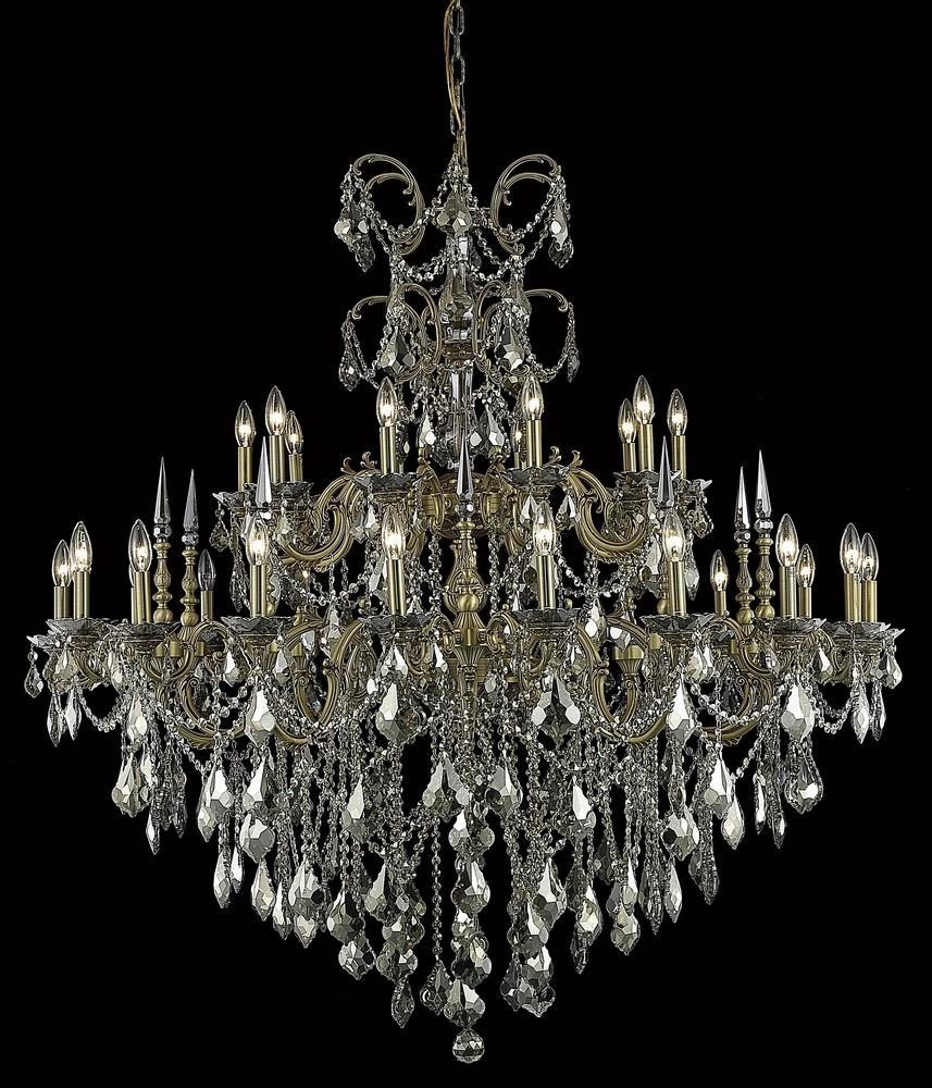 Elegant Lighting Chandelier Model: 9730G53DB/RC