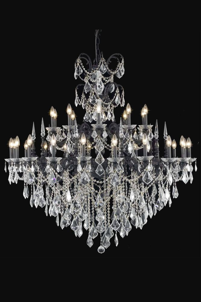 Elegant Lighting Athena 30 Light Chandelier Model: 9730G53DB/EC