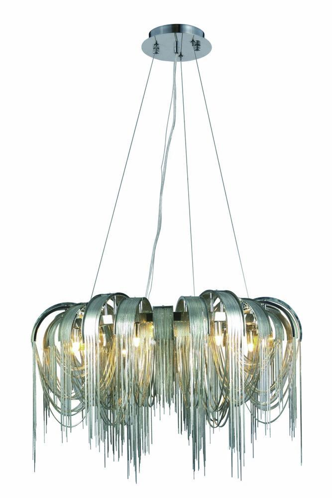 Elegant Lighting Blythe 8 Light Chandelier Model: 1505D31C