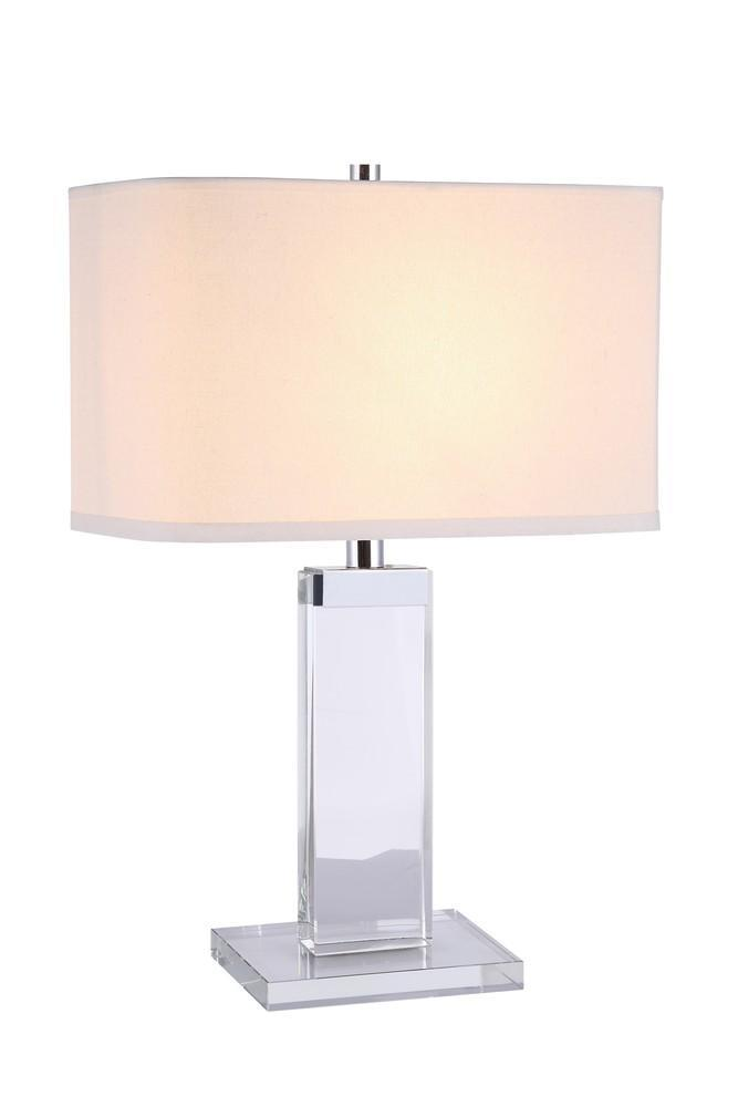 Elegant Lighting Regina 1 Light Table Lamp Model: TL1013