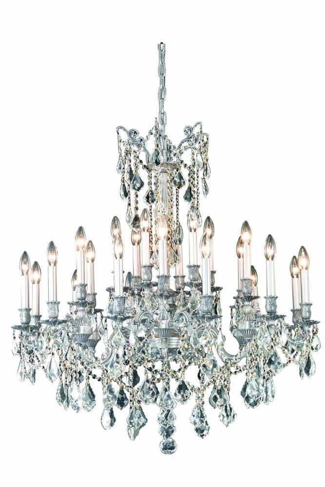 Elegant Lighting Rosalia 24 Light Chandelier Model: 9224D36DB/EC