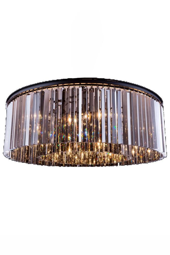 Elegant Lighting Sydney 10 Light Flush Mount Model: 1208F43MB/RC