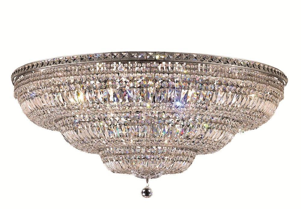 Elegant Lighting Tranquil 48 Light Flush Mount Model: V2528F48C/SS