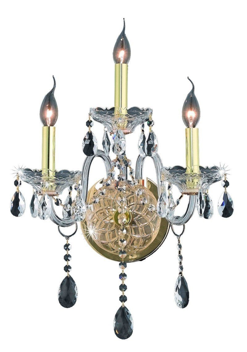 Elegant Lighting Verona 3 Light Sconce Model: 7953W3C/EC