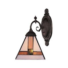 Elk 071-TB-01 Mix-n-match 1 Light Wall Sconce In Tiffany Bronz