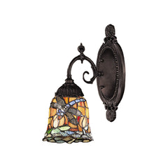 Elk 071-TB-12 Mix-n-match 1 Light Wall Sconce In Tiffany Bronz