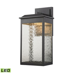 Elk 45202/LED Newcastle Led Outdoor Wall Sconce In Matte Black