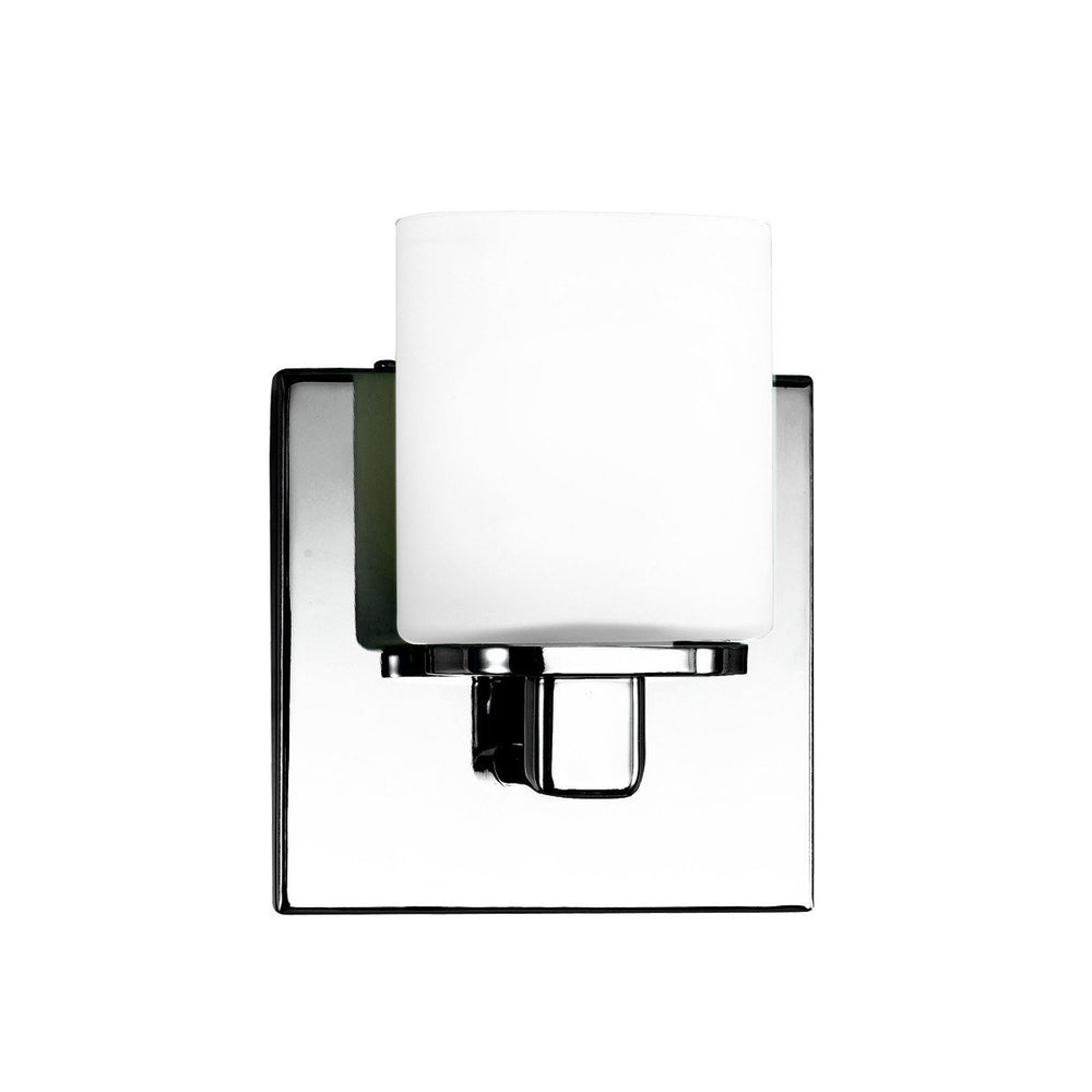 Eurofase 19414-010 Marond 1 Light Wall Sconce Chrome/Opa
