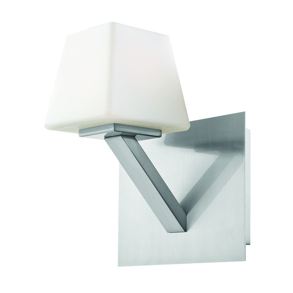 Eurofase 23041-028 Anglo 1 Light Wall Sconce Satin Nickel