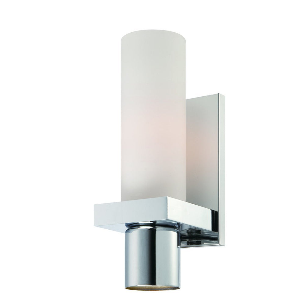 Eurofase 23277-038 Pillar 1+1 Light Wall Sconcee Chrome