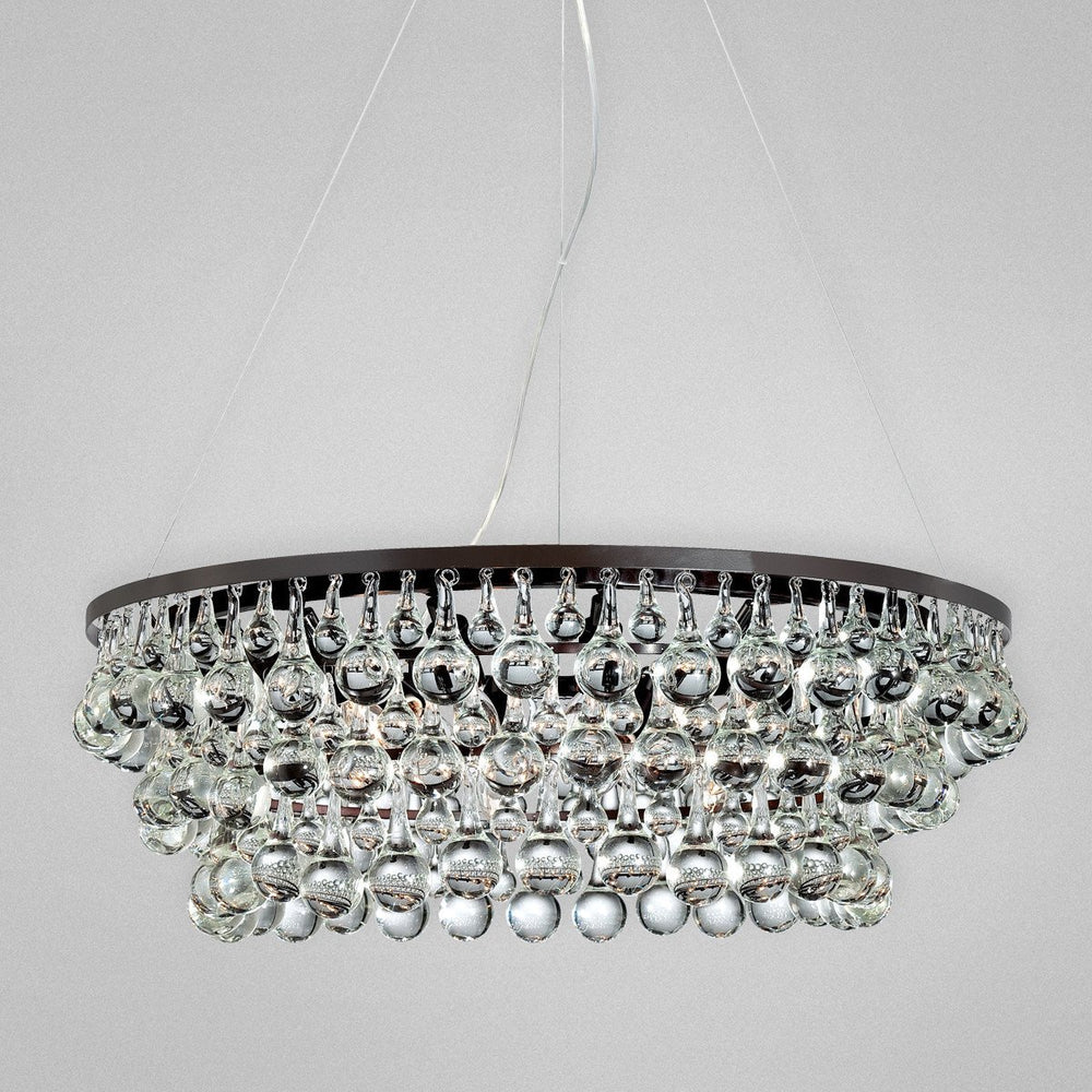 Eurofase Canto, 12 Light Chandelier, Orb Model: 25690-019