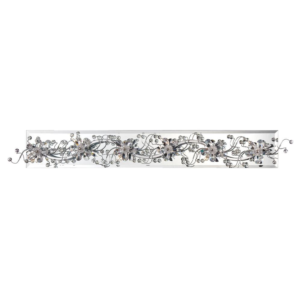 Eurofase Relic 6 Light Bathbar Chrome Model: 28181-019