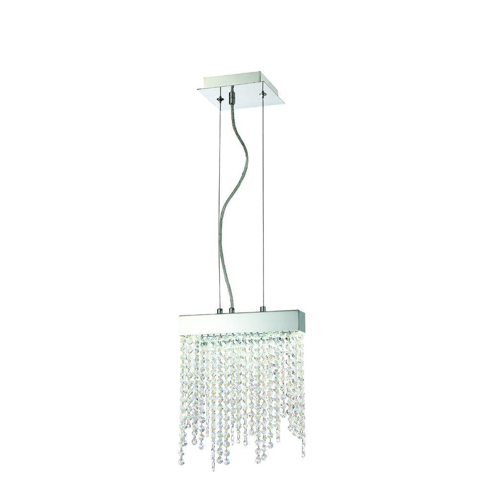 Eurofase Rossi 1 Light LED Pendant10wchr Model: 30004-016