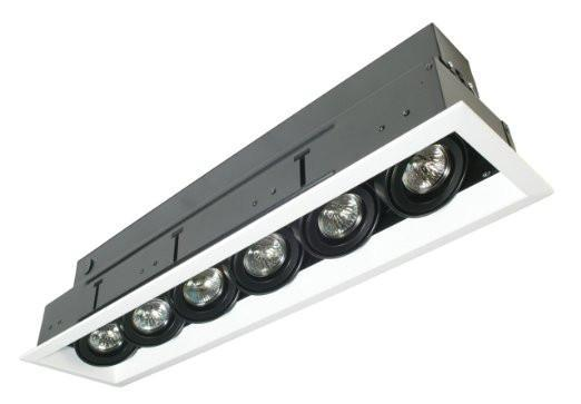 Eurofase TE116ATR-0N 6 Light Multiple Mr16 Platinum/Black