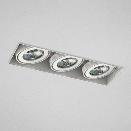 Eurofase TE213TR-02 3 Light Trimless Multi Mr16 White