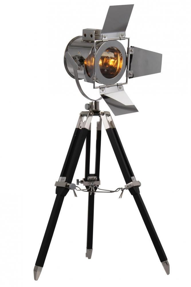 FL1200 Elegant Lighting Ansel Tripod 1 Light Floor Lamp