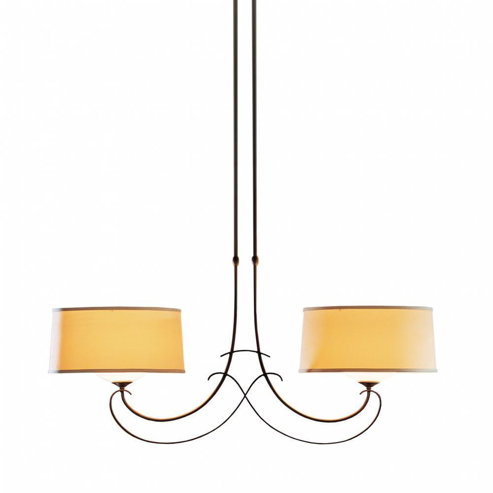 Hubbardton Forge Almost Infinity Large Pendant Model: 131234-SKT-LONG-05-325G