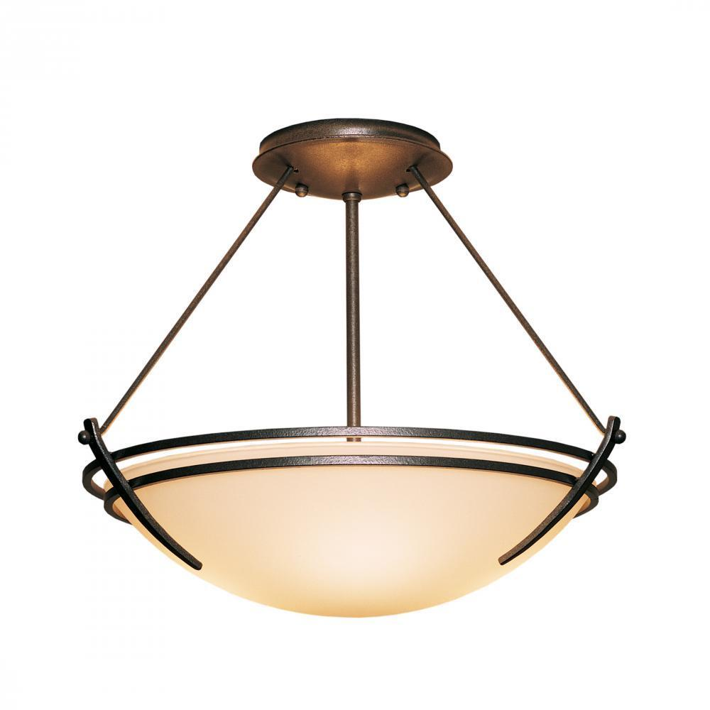 Hubbardton Forge Presidio Tryne Semi Flush Model: 124422-SKT-82-GG0047