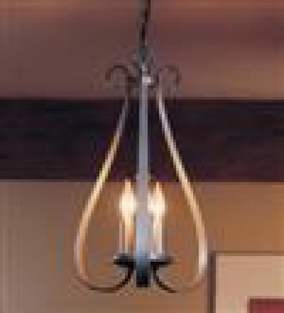 Hubbardton Forge Sweeping Taper 3 Arm Chandelier Model: 101473-SKT-82